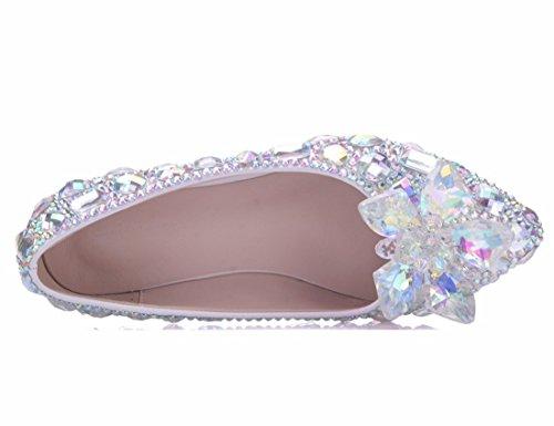 Sandales EU Silver MGM Argenté Femme Compensées Joymod 5 36 HPxn5CqwR