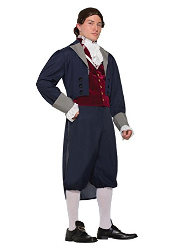 Forum Men's Thomas Jefferson Patriotic Costume, As Shown, STD