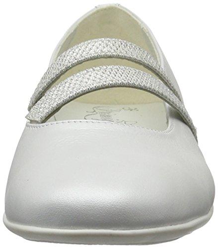 Primigi Mädchen Pfr 7212 Geschlossene Ballerinas Weiß (BIANCO)