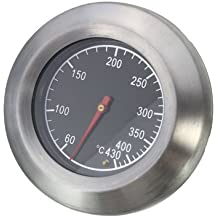 Bbq Grill Thermometer - Bbq Smoker Thermometer - Stainless Steel Thermometer Barbecue BBQ Smoker Grill Temperature Gauge 60-430℃ ( Bbq Temperature Thermometer )