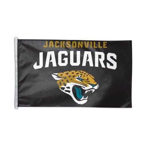 WinCraft NFL Jacksonville Jaguars Flag, 3 x 5-Feet