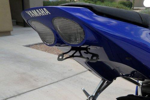 (Yamaha 2001 2002 YZF R6 Fender Eliminator License Plate Bracket)