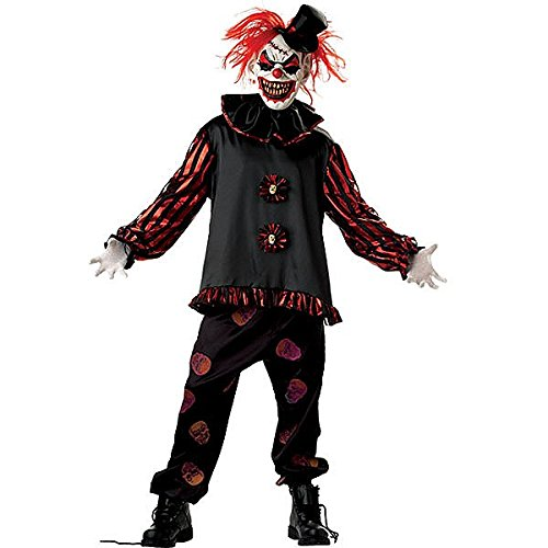Morris Costumes Carver The Killer Clown -