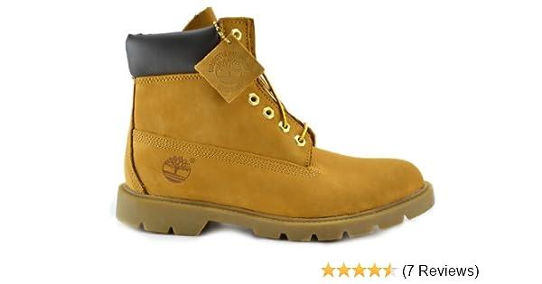 skridsko skor ny hög kvalitet ankommer Amazon.com | Timberland Men's 6-Inch Basic Waterproof Boots Wheat ...