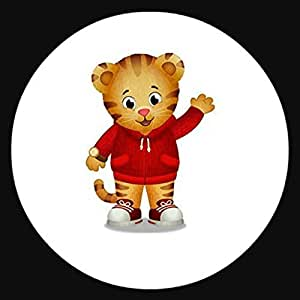 "Daniel Tiger Round Edible Image Photo Sugar Frosting Icing Cake Topper Sheet Personalized Custom Customized Birthday Party - 7.5"" Round - 74655 by Sweet Custom Cakes"
