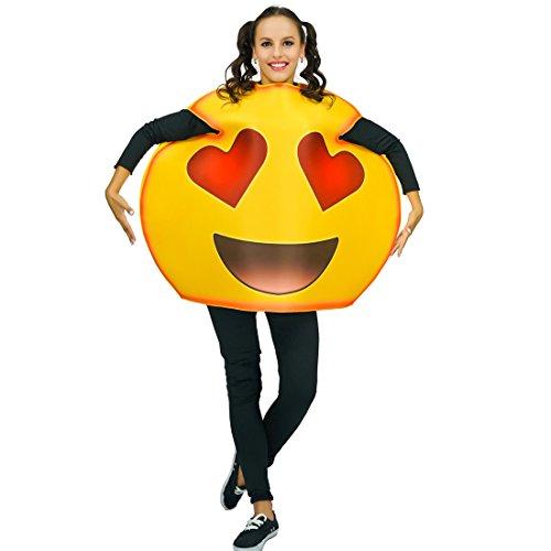 Adult Unisex Fun Emoticon Costumes Anthomaniac One Size