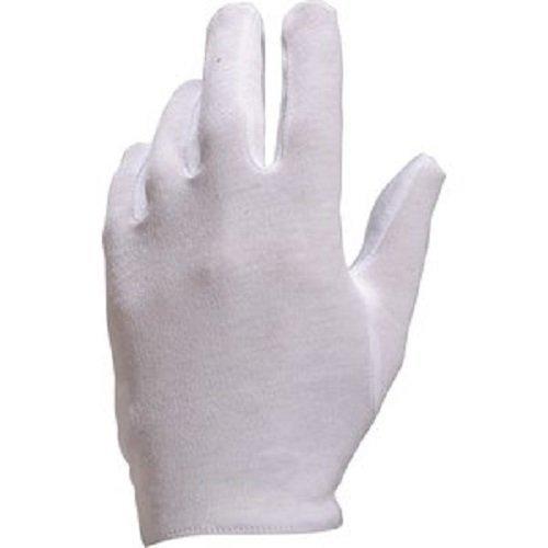 1 paires taille XL Gants coton blanc de protection cé ré monie gant pour travaux mineurs C.E.C