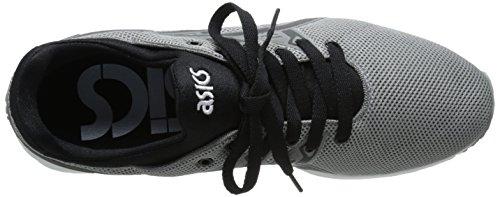 ASICS Gel-Kayano Trainer EVO Retro Running Shoe Gray/Black bABVE