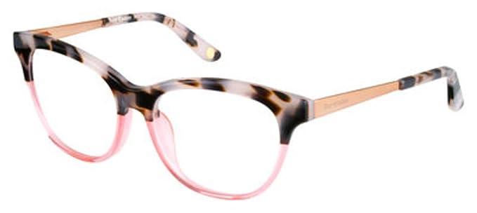 Amazon.com  JUICY COUTURE Eyeglasses 161 0RTB Havana Pink Rose 52MM ... d045a6bbc4