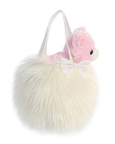 Fluffy Kitty (Aurora World Fancy Pals Pet Carrier, Fluffy White)