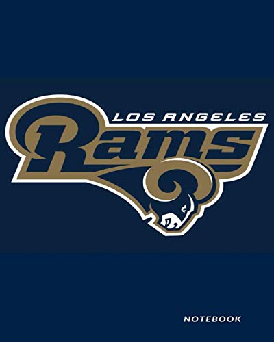 (Los Angeles Rams Notebook: Blankbook 100 Pages Journal Diary)