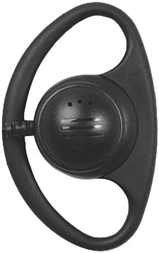Vertex Premium Quality Earpiece D-Ring 1 Wire For:VX-230,VX-231,VX-261,VX-264,VX-300,VX-350,VX-351,VX-354,VX-400,VX-410,VX-420,VX-451,VX-454,VX-459,BC-95,eVX-261,eVX-531,eVX-534,eVX-539 - D-ring Earpiece