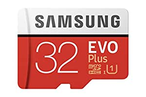 Samsung EVO Plus - Tarjeta de memoria de 32 GB con adaptador SD (95 MB/s, U1)