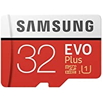 Samsung 32GB EVO Plus Class 10 Micro SDHC with Adapter (MB-MC32GA/EU) Read:up to 95MB/s,Write:up to 20MB/s !