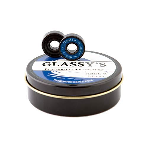 Magneto Glassy's Ceramic Bearings (Black)