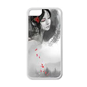 Generic Soft Hipster Back Phone Cover For Kids Custom Design With Asian Chinese Ink Painting For Apple Iphone 5C Choose Design 8