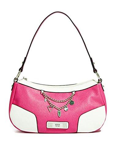 GUESS Womens Senuri Top-Zip Bag