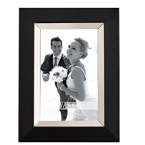 Veneer Custom Picture Frame (UMICAL(TM) 6x8 Inch Polymer Shadow Box Picture Frame to Display 6×4 Inch Picture (6'' X 4'', plastic frame03))