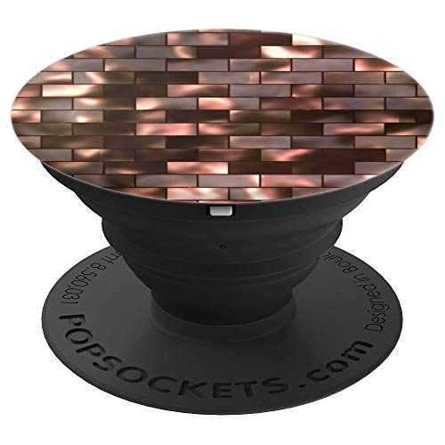 Copper Basket Weave Phone Grip Design - PopSockets Grip and Stand for Phones and ()