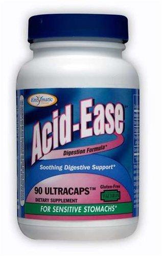 Acid-Ease digestion formula; for sensitive stomachs, 90 Veg Capsules