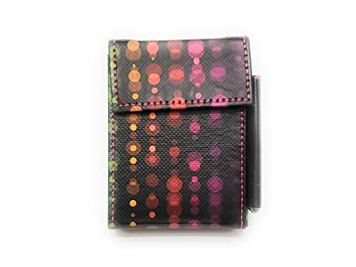 Fun & Colorful Kingsize Womens Fabric Cigarette Case with Lighter Pouch (Style 708C) - Lighter Cigarette Style