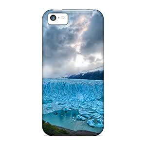 Hot Design Premium Tpu Case Cover ipod touch4 Protection Case(iceberg)