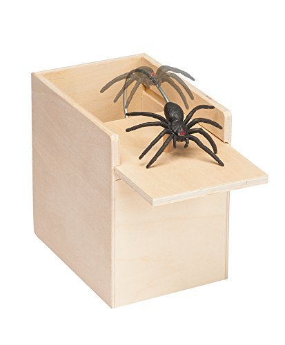 Scary Halloween Stuff (Spider Surprise - Scare Box, Hilarious Practical Joke Money Box)