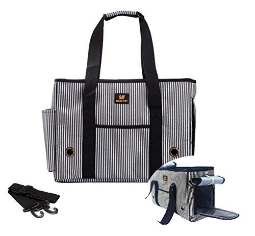 Hubulk Pet Dogs Cats Carrier Airline Approved Travel Outdoor Bag Portable Dog Purse Soft Comfort Oxford Tote HandBag (M)