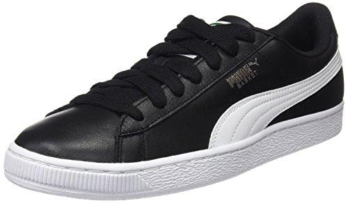 Uomo Sneaker EU Black 38 Puma Basse white Nero 5wE4I4qf