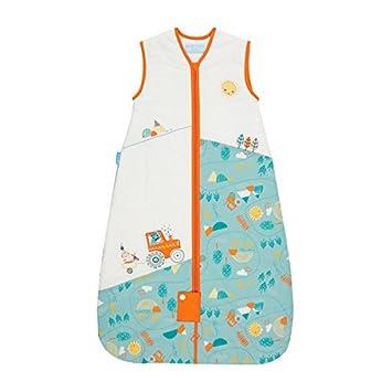 The Gro Company - Saco para dormir de bebé Grobag con motivos de granja, de 0 a 6 meses. Talla:18-36 meses: Amazon.es: Bebé