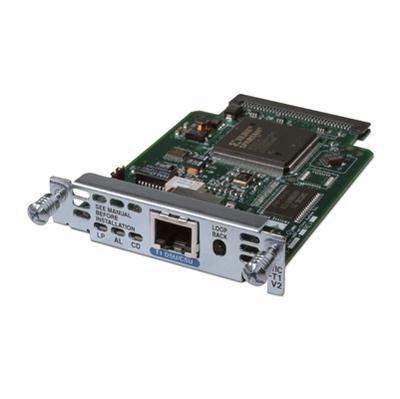 - Cisco WIC-1DSU-T1-V2 DSU/CSU WIC Card