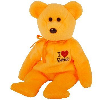 Buy TY Beanie Baby - FLORIDA the Bear (I Love Florida - State Exclusive)  Online at Low Prices in India - Amazon.in 4bc28bba2892