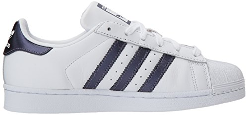 Superstar White para Originals Purple W White Zapatillas Adidas Mujer Night Deportivas P4qOBwx