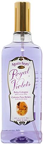 Agustin Reyes Royal with Aloe Vera Violets - Baby Cologne Spray Bottle by Royal Violets. (1)