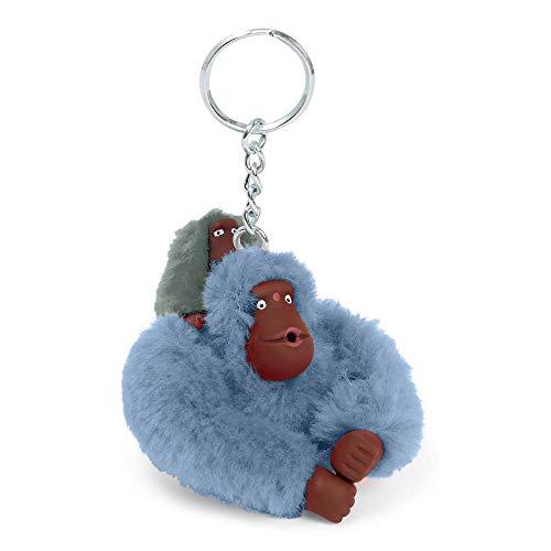 Kipling Baby Monkey Keychain Dream Blue ()