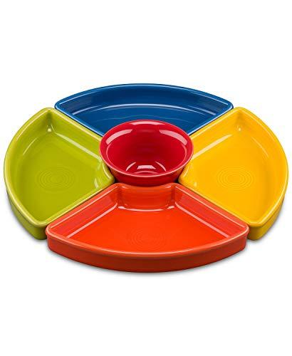 Fiesta 5 pc. Entertaining Set in Fiesta Bold Colors (Best Pizza In Laughlin)