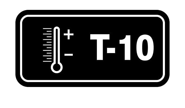 1-1//2 W x 3 L Pack of 5 Accuform TDF810XVM Adhesive Dura-VinylT-10 Thermal Energy Source Standard Tag White on Black