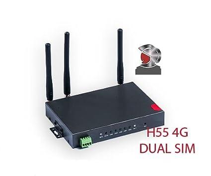Amazon com: Cellular industrial Router H55 3G 4G LTE DUAL