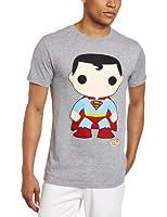 DC Comics Men's Funko Superman Heather Tee