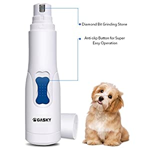 Dog Pet Nail Grinder for Small Medium Dog Cat Cordless Gentle Painless Paws Portable Grooming Electric Nail Trimmer for… 5