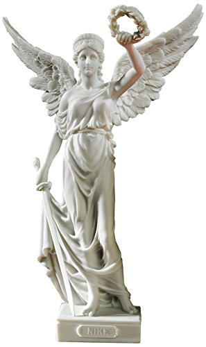 Design Toscano Nike, The Winged Goddess of Victory Bonded Marble Resin Statue