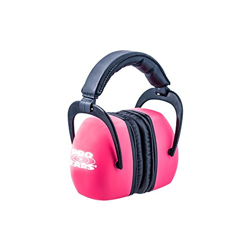Pro Ears - Ultra Pro - Hearing Protection - NRR 30 - Shooting Range Ear Muffs - Pink