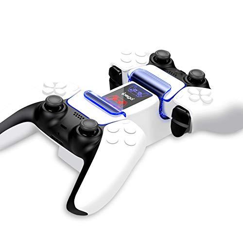 PiAEK Estación de Carga para Controlador PS5, Base Dual, Cargador de Controlador PS5, Carga rápida con Indicador LED…