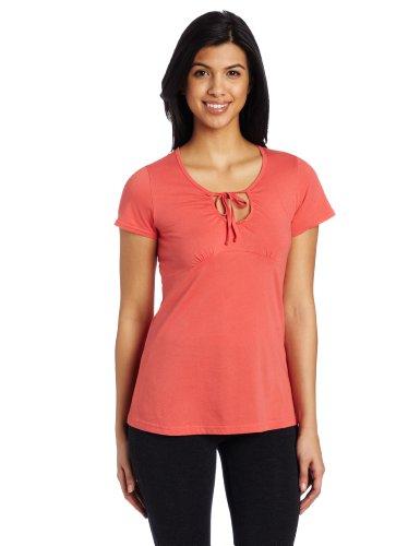 Royal Robbins Women's Nellie Short Sleeve Shirt, Rosehip, ()