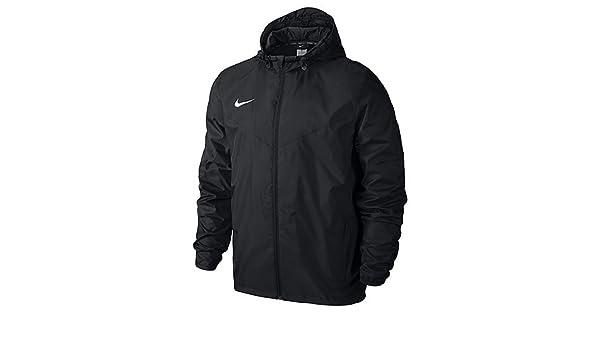 : Nike Team Sideline Rain Jacket BlackWhite YXS