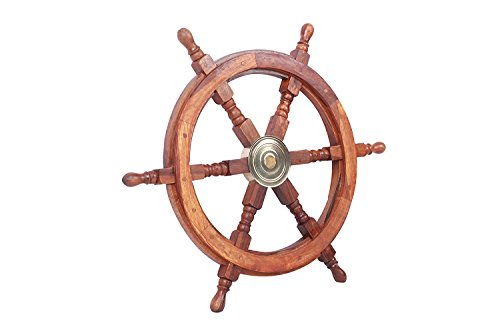 Sailor's Special Premium Ship Wheels | Home Decor Wall Sculptures I 24 Inches