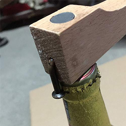 Sala-Houseware - Beech Wooden Nail Can Opener Multifuctional Bottle Opener Jar Can Kitchen Manual Tool Gadget Bar Tool from Sala-Houseware