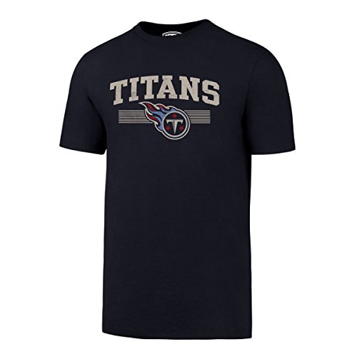 NFL Tennessee Titans Men's OTS Rival Tee, Distressed OK Arch, XX-Large