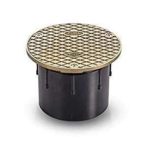 Zurn CO2450-AB3, Adjustable Floor Cleanout, 3 Inch ABS Hub Connection