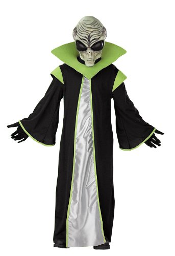 Alien Costume - Medium (7-8) (Cool Halloween Costumes)